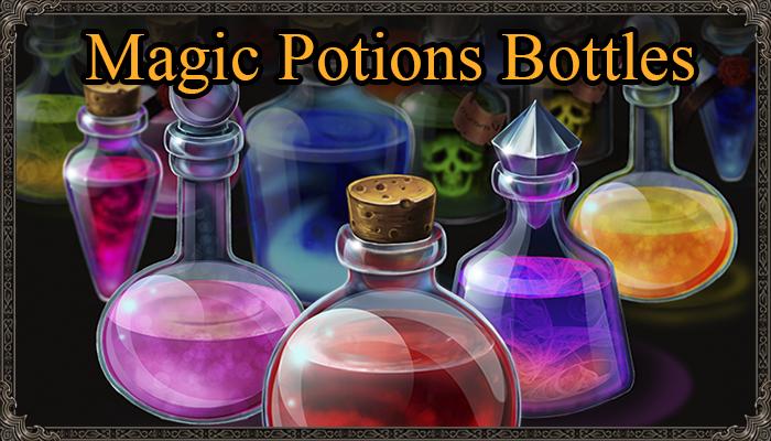 Magic Potion Bottles