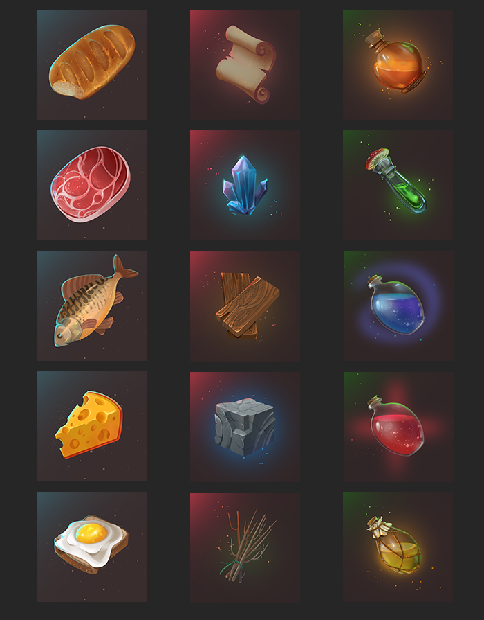 Inventory Icons
