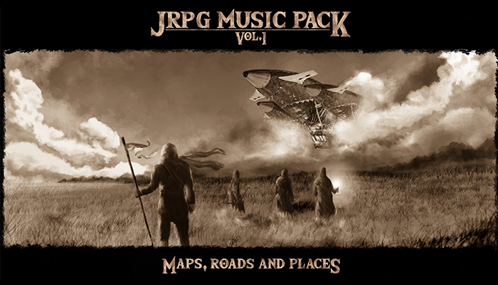 RPG Music Pack Vol.1 – Maps, Roads and Places