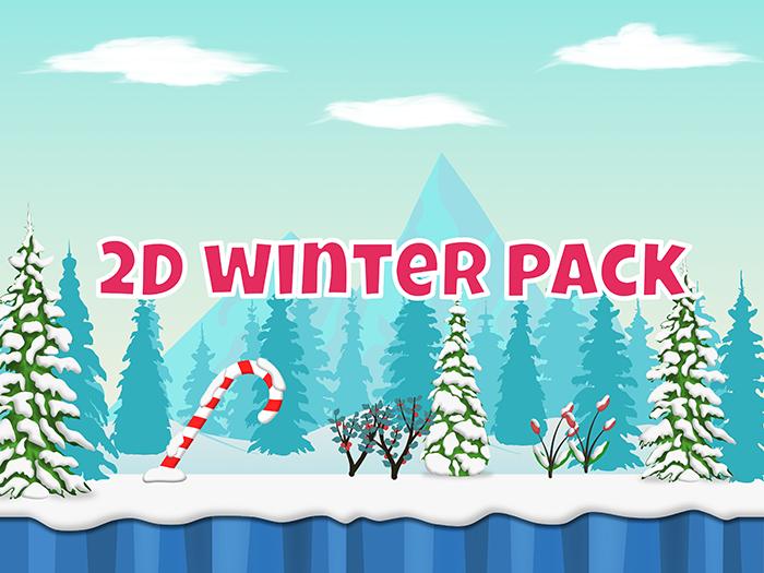 Winter 2D game complete set