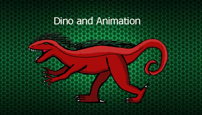 Dino and animation