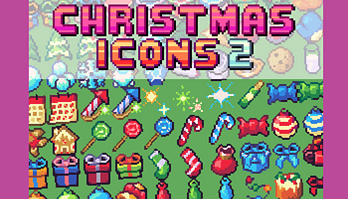 Christmas Icon Pack 16×16 Iconset