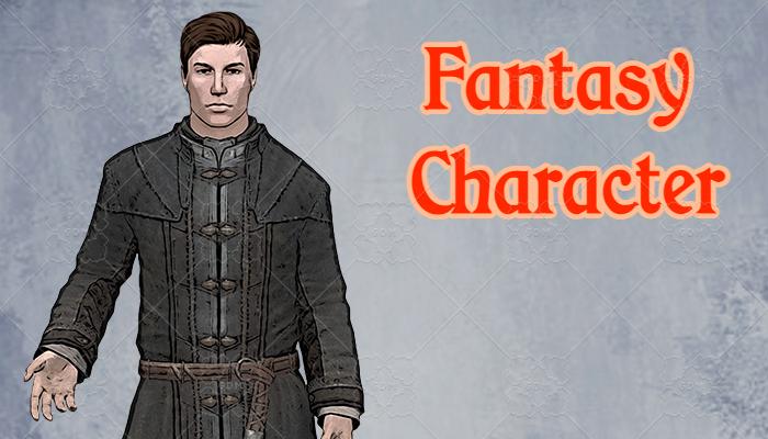 Fantasy Character #1