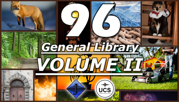 96 General SFX Library (Volume II)