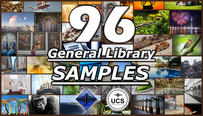 96 General SFX Library (Free Sample)