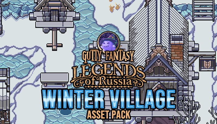 Winter Village Game Assets
