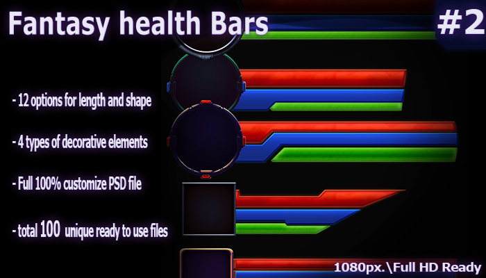 Health and mana bars #2