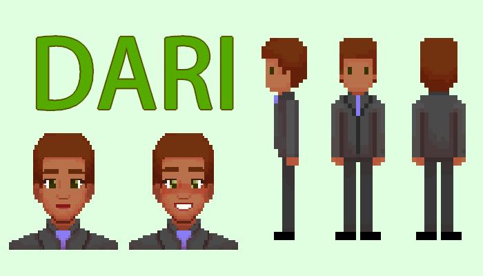 Dari || 2D Pixel Character Asset Pack