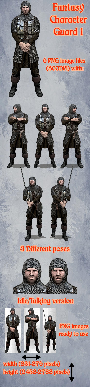 Fantasy Character – Guard1