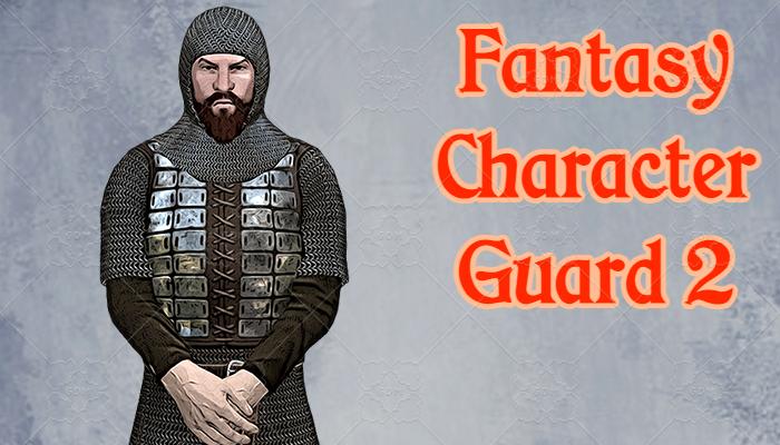 Fantasy Character – Guard2