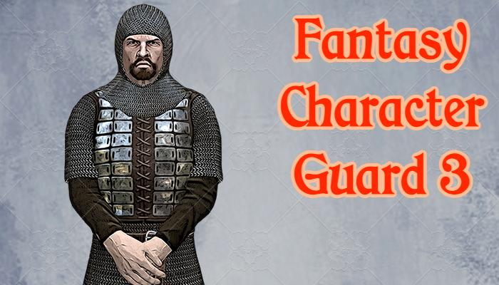 Fantasy Character – Guard3