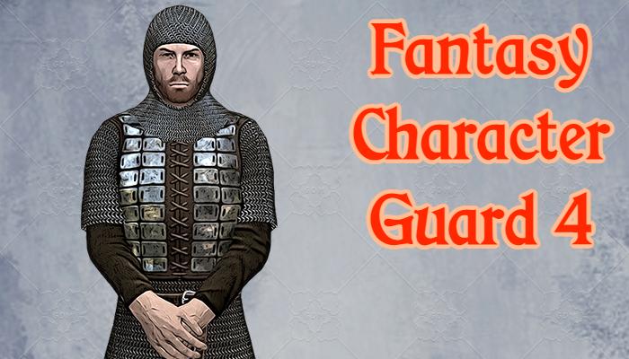 Fantasy Character – Guard4