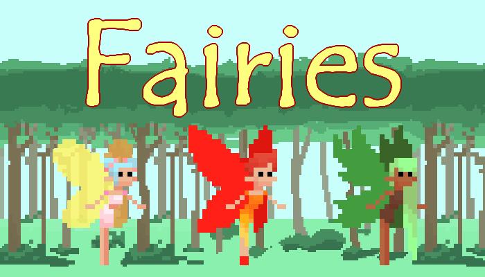 Fairies || 2D Pixel Character Asset Pack