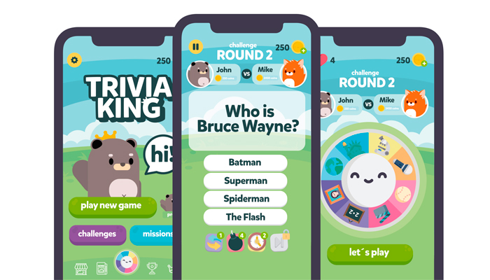 Trivia King Game Gui Assets Kit