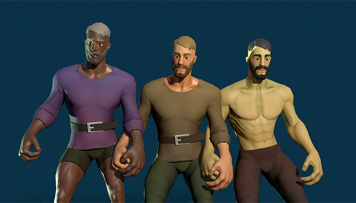 Stylized Human Male