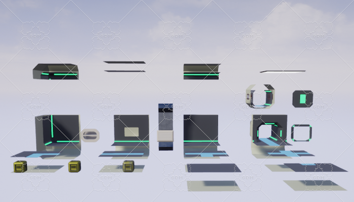 Space Station Modular Pack