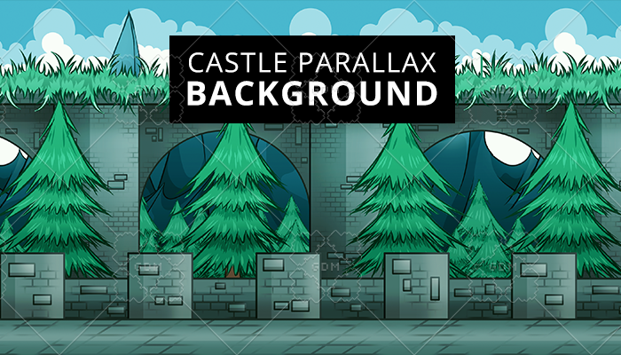 Castle Parallax Background