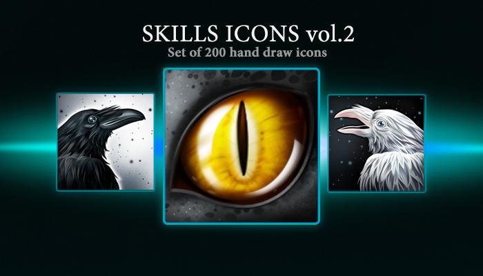 Skills Icons vol.2