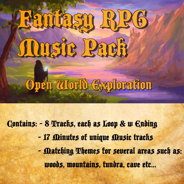 Fantasy RPG Music Pack – Open World Exploration