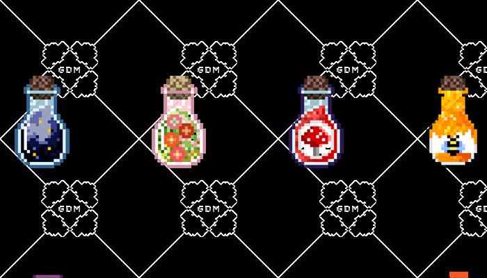 Pixel potions