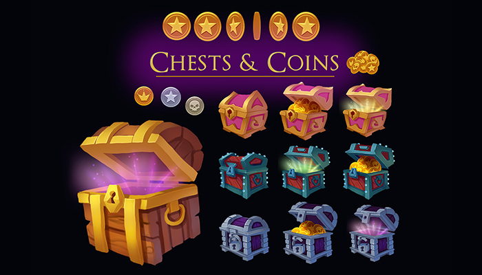 Chests & Coins