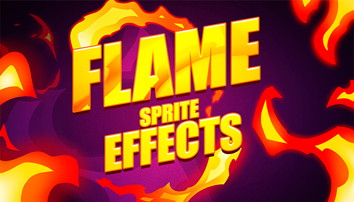 Flame sprite effects