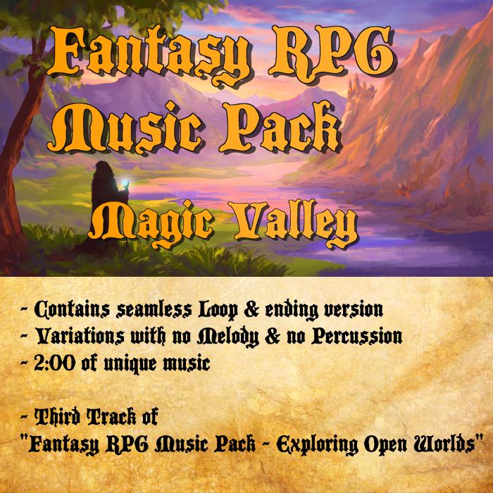 Fantasy RPG Music – Magic Valley