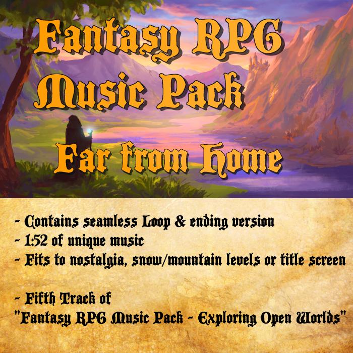 Fantasy RPG Music – Far from Home