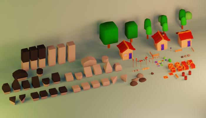 Basic Platforming Tile Pack