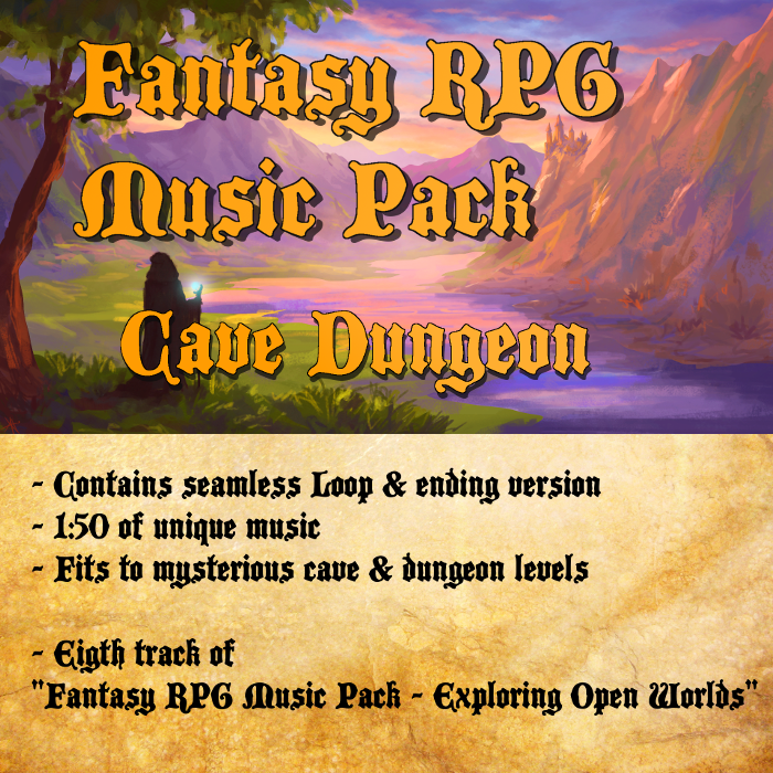 Fantasy RPG Music – Cave Dungeon