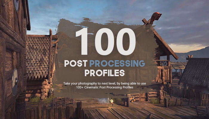100+ Cinematic Post Processing Profiles