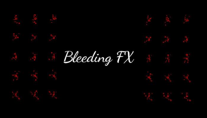 Pixel Art Bleeding FX