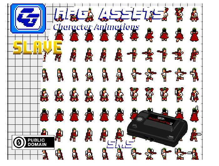 RPG Asset Character 'Emperor' SMS