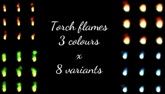Torch Flames