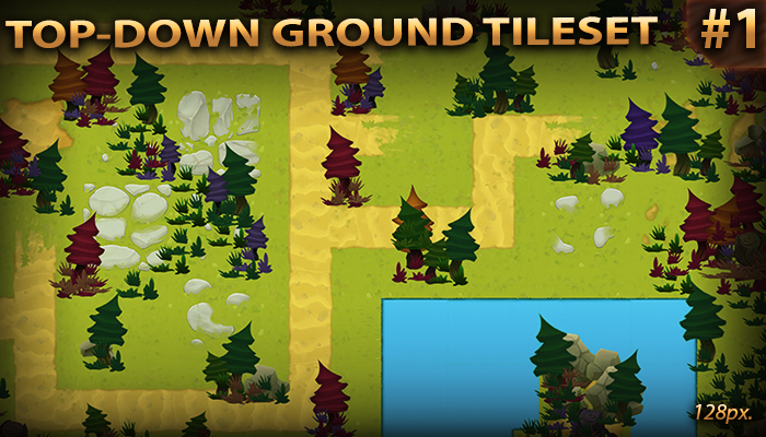 Top Down ground tileset