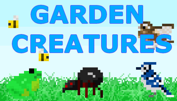 Garden Creatures    2D Pixel Character Asset Pack