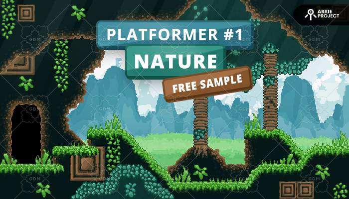 Platformer 1 Nature – Free Sample