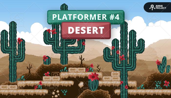 Platformer 4 Desert