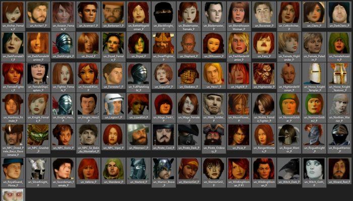 85 Fantasy RPG Character Avatar Icons