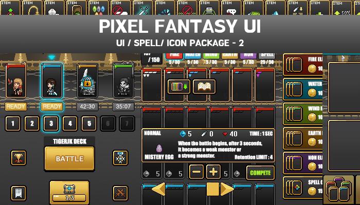 FANTASY PIXEL UI-2
