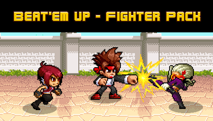 BEAT'EM UP CHARACTERS PACK