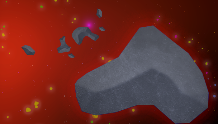 2D Asteroid Pack