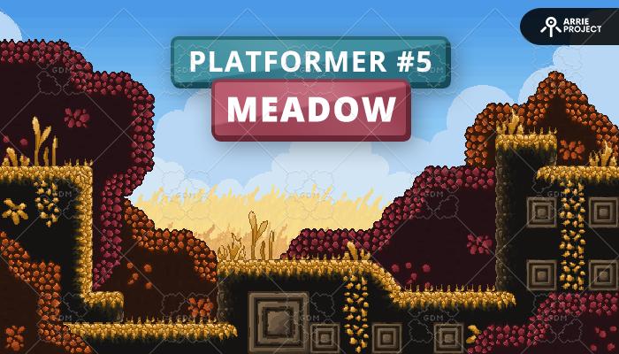 Platformer 5 Meadow – FREE!