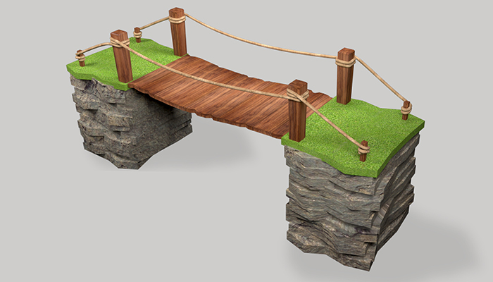 Bridge 3d model & 3dprint