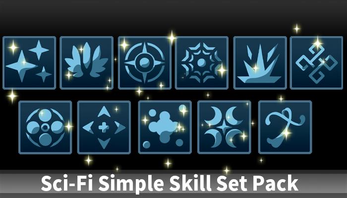 Sci-Fi Simple Skill Set Pack