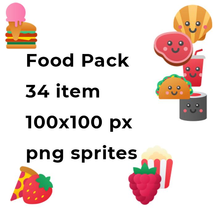 2D Food Pack