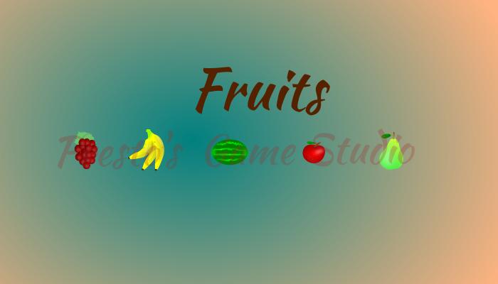 Fruits 2d