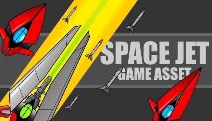 Space Jet – Game Asset