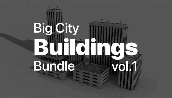 Big City Buildings Bundle vol.1