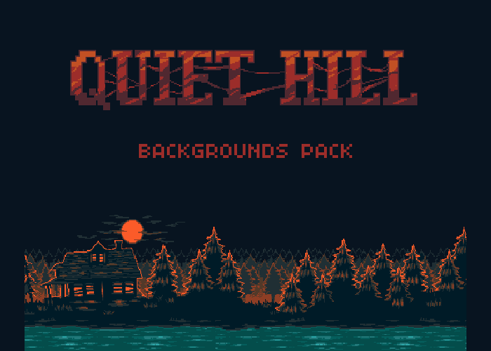 Quiet Hill Backgrounds Pack